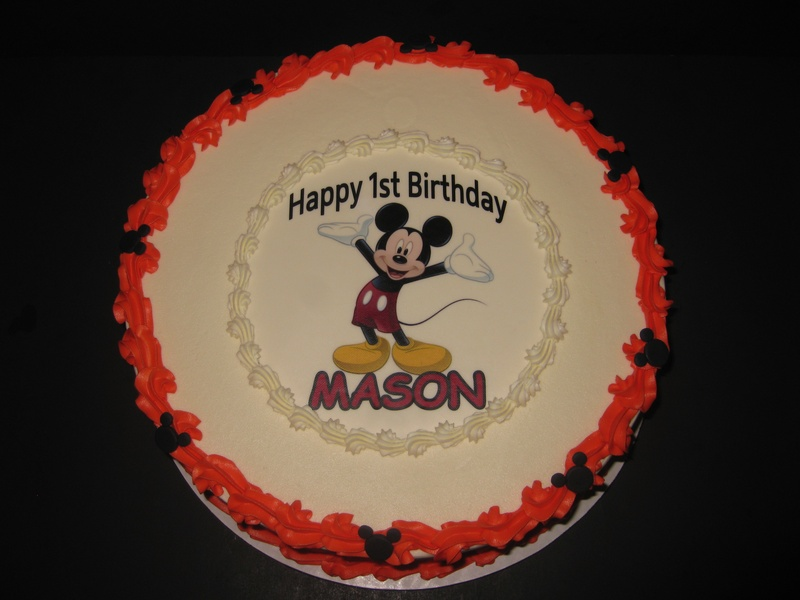 Mason's Mickey Mouse Birthday