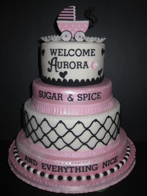 Bethany's Baby Shower Cake