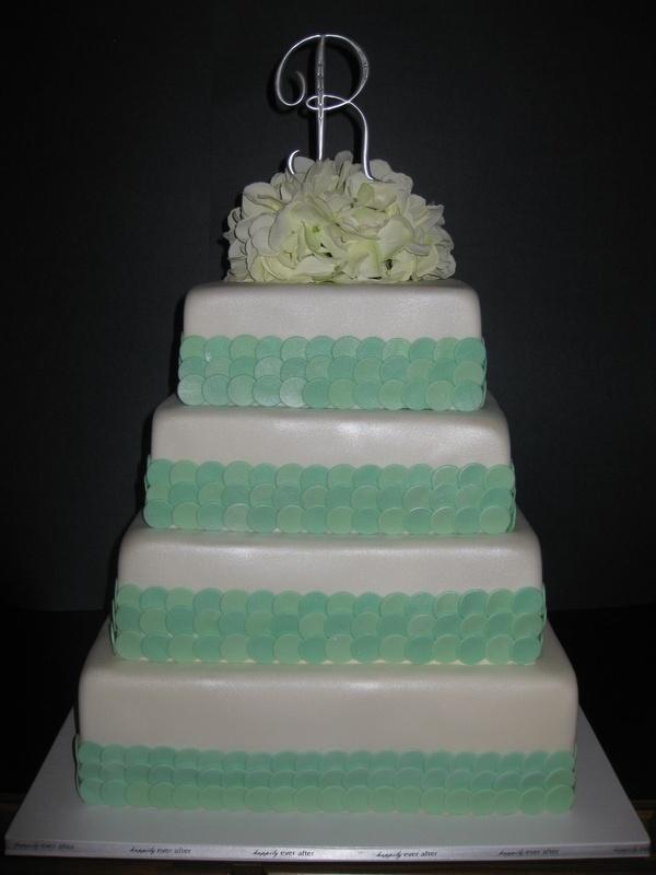 Jack & Brittany's Wedding Cake