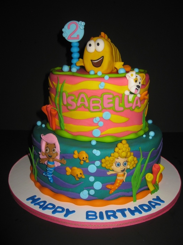 Isabella's Bubble Guppies Birthday