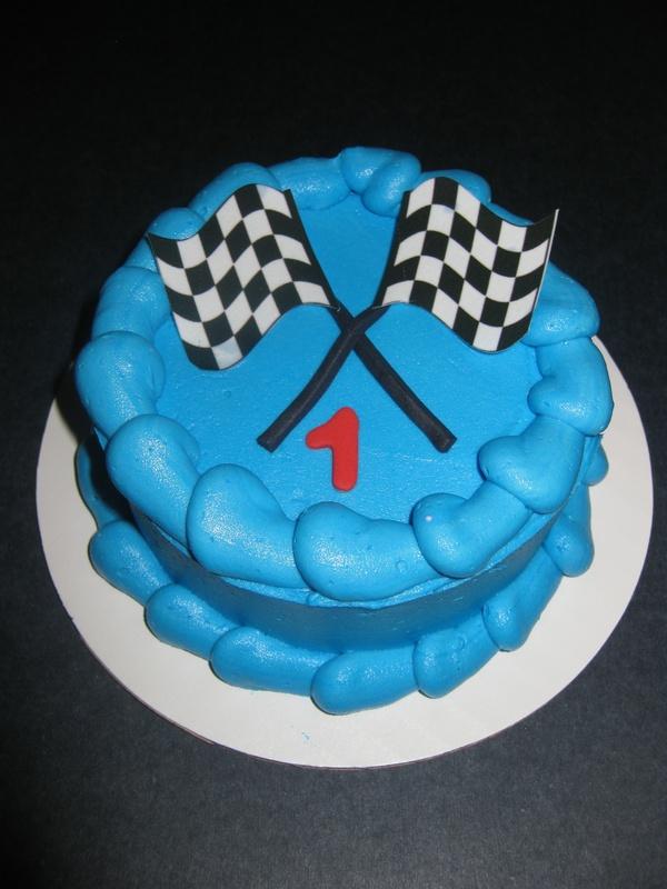 Gavin's Cars Smash Cake