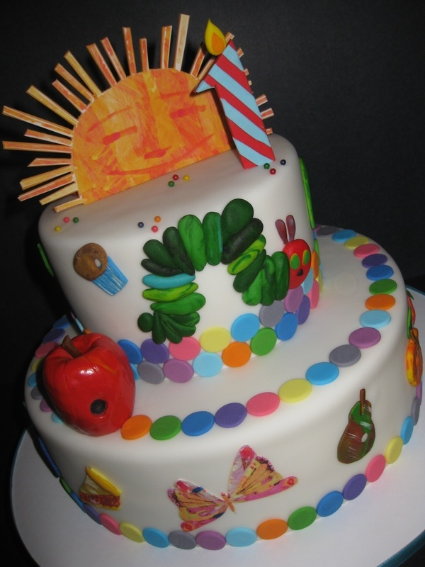 Sawyer's 'The Very Hungry Caterpillar' 1st Birthday