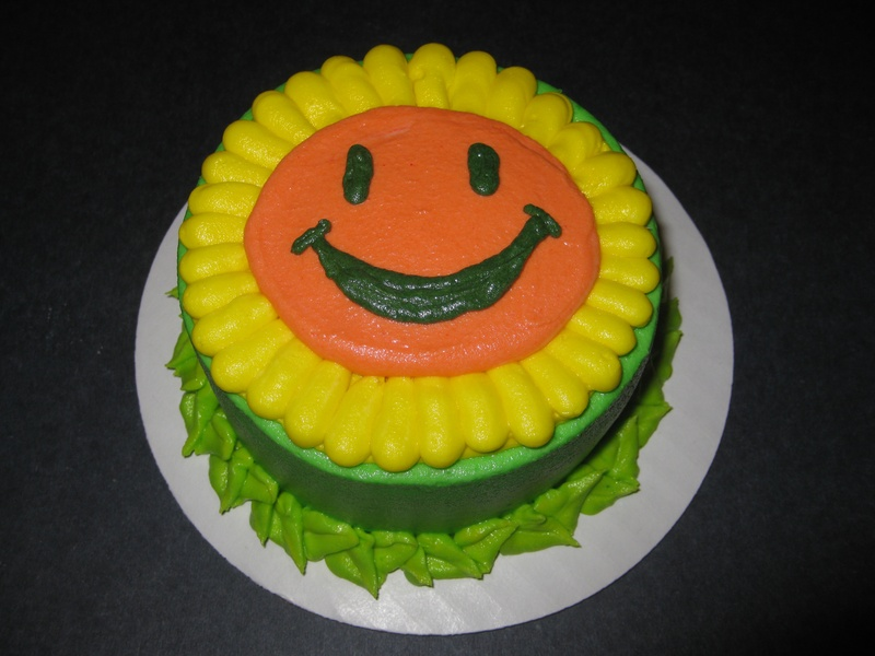 Grace's Plants vs Zombies Smash Cake