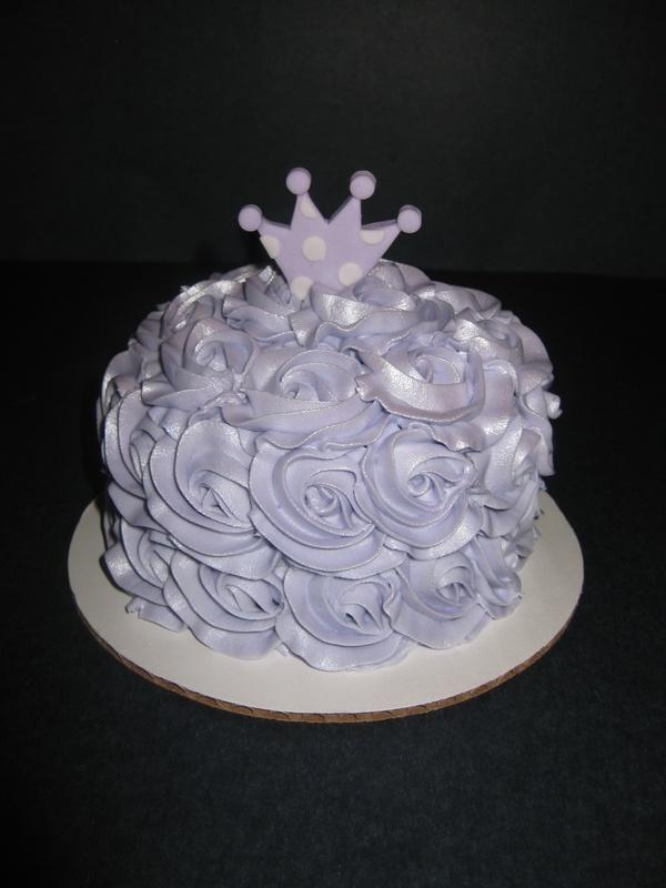 Nora's Princess Smash Cake