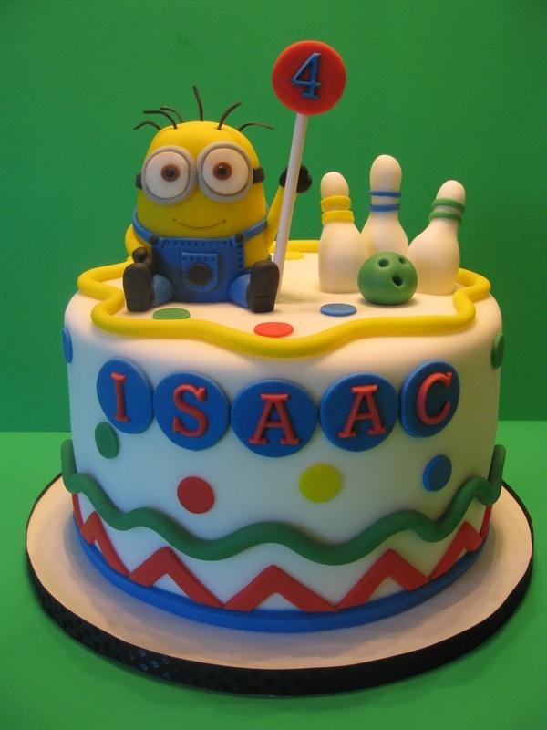 Isaac S Minion S Bowling Cake