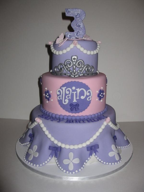 Alainas Sofia The First Birthday Cake