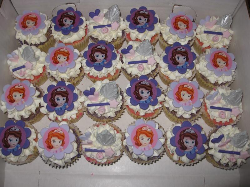 Ava S Princess Sofia Cupcakes