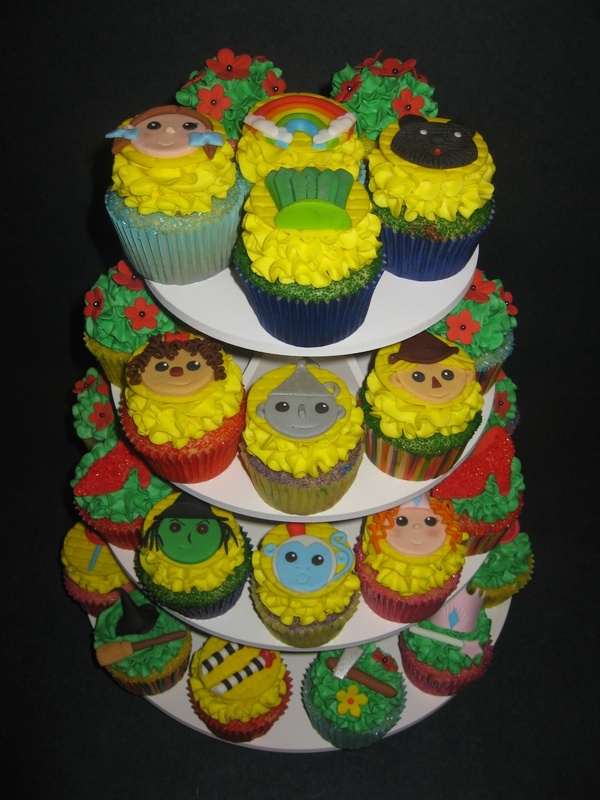 Allison and Lauren's Wizard of Oz Cupcakes