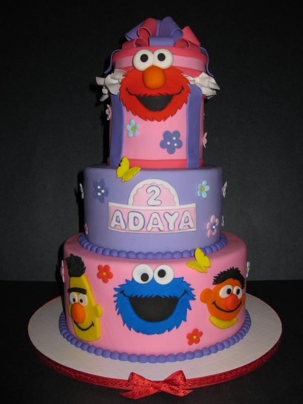 Adaya's Sesame Street Birthday