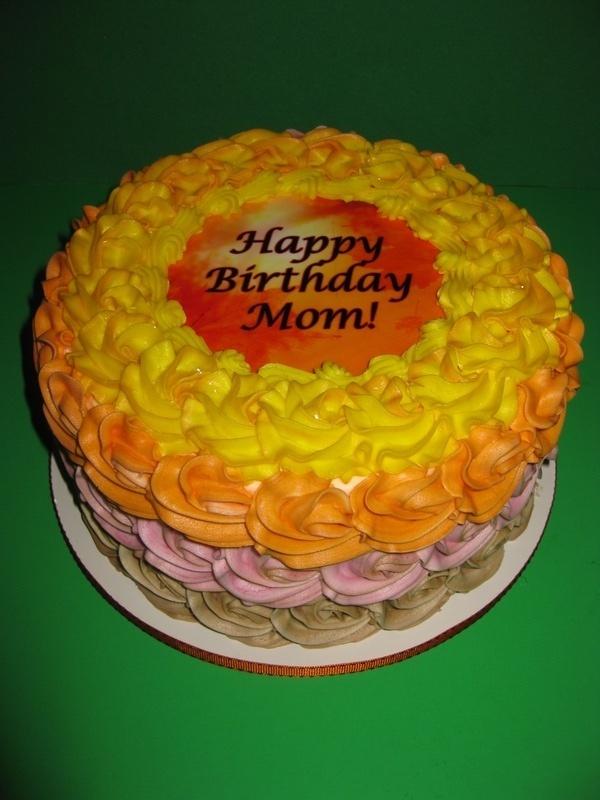 Nancy's Rosette Birthday Cake
