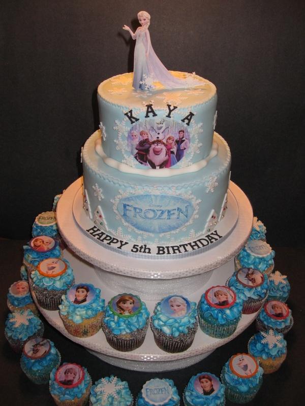 frozen cupcake cake walmartFrozen Cupcake Cake