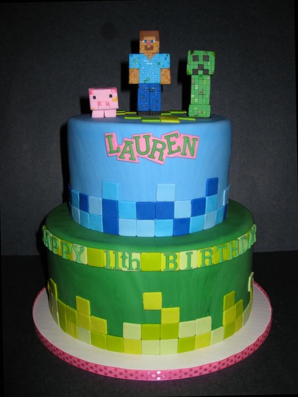 Lauren's Mine Craft Birthday