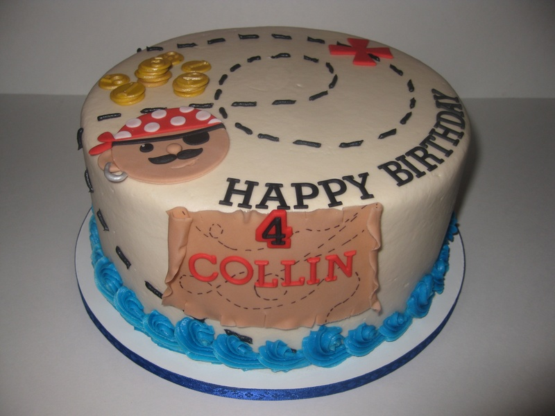 Captain Collin's Pirate Birthday Cakes