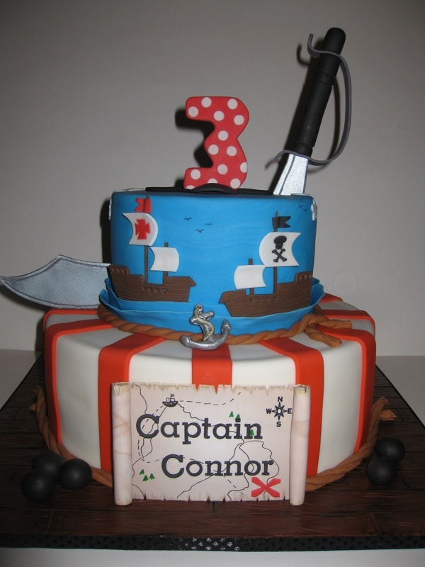 Captain Connor's Pirate's Birthday Cake