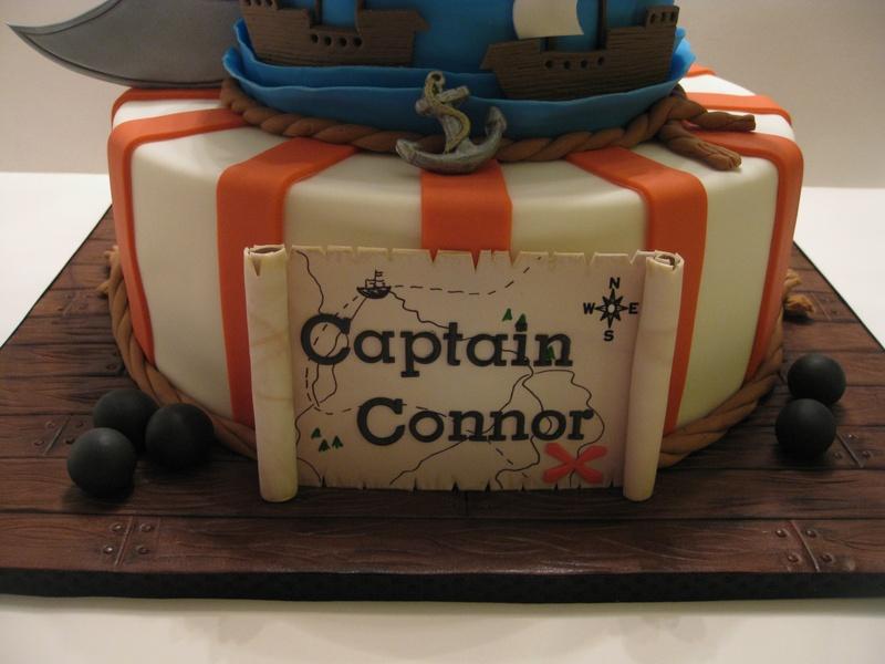 Captain Connor's Pirate's Birthday Cake