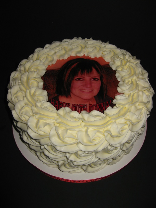 Donna's 60th Birthday Cake