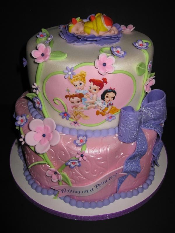 Baby Princesses Cake