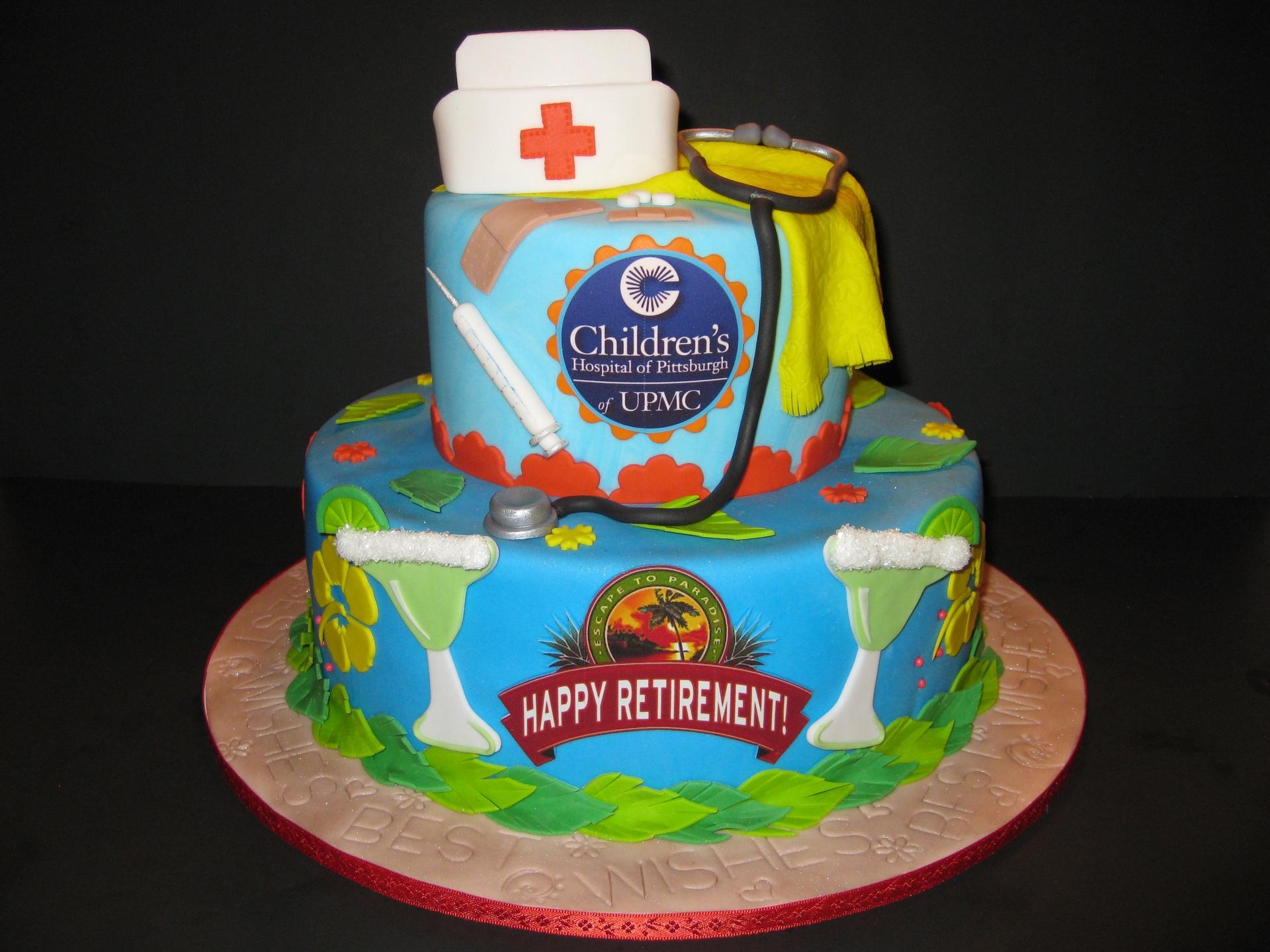Ginny's Retirement Cake