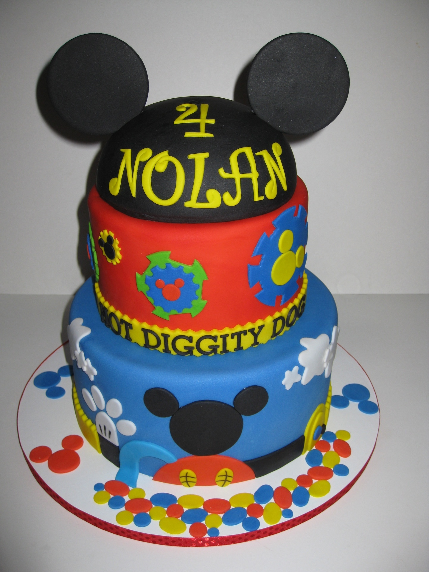 Nolan's Mickey Mouse Club House Birthday