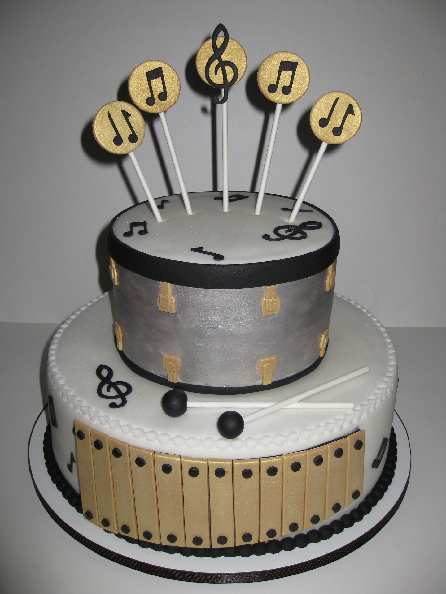 Birthday Cake For Musical Dad