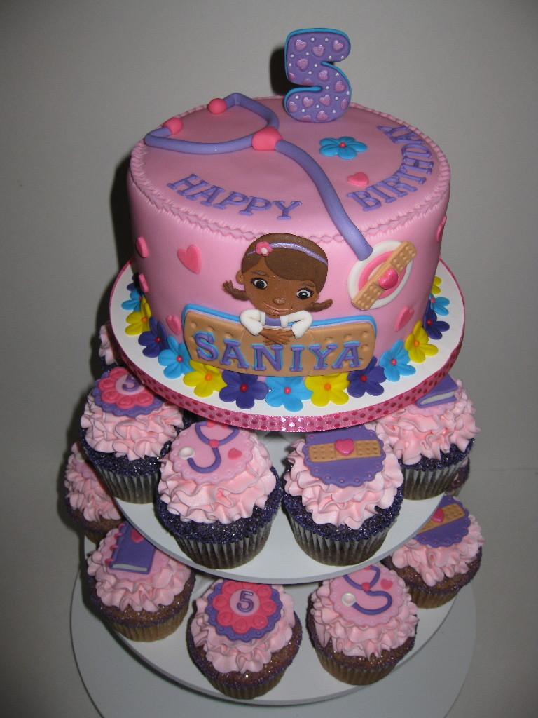 Doc Mcstuffins House Cake