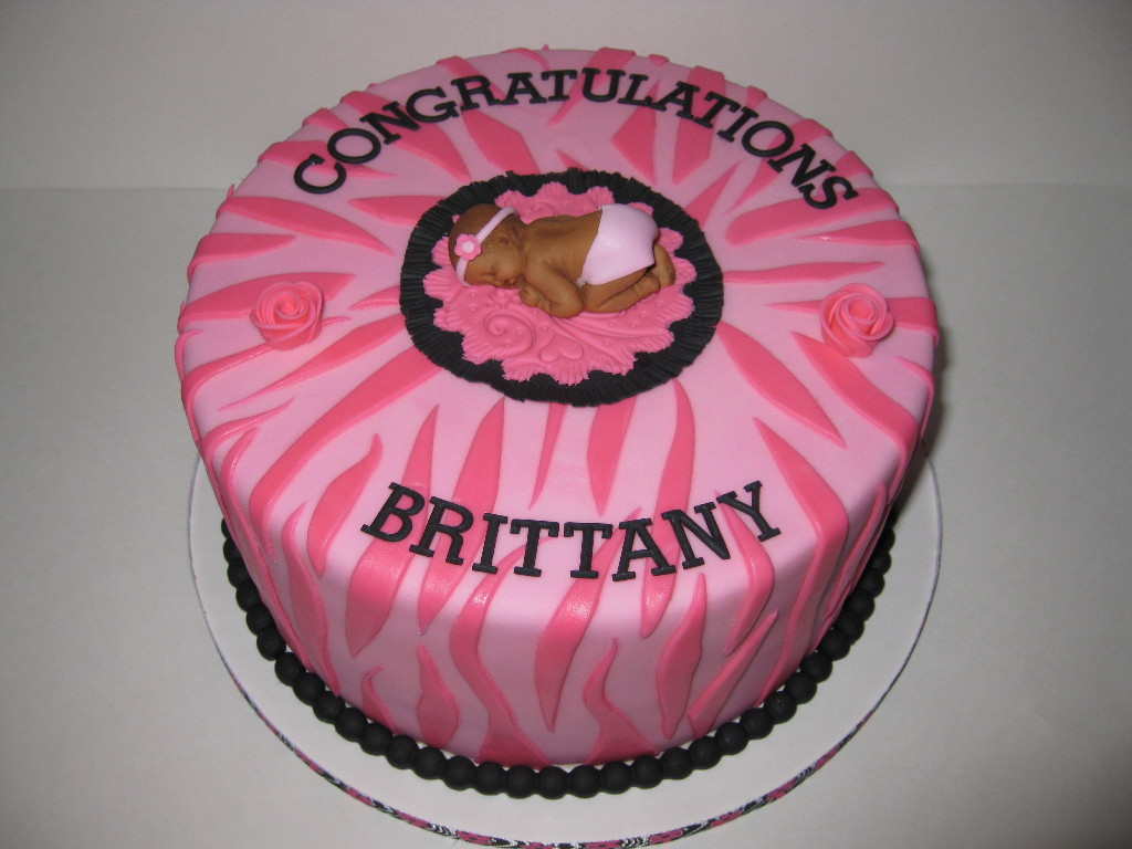 Brittany's Baby Shower Cake