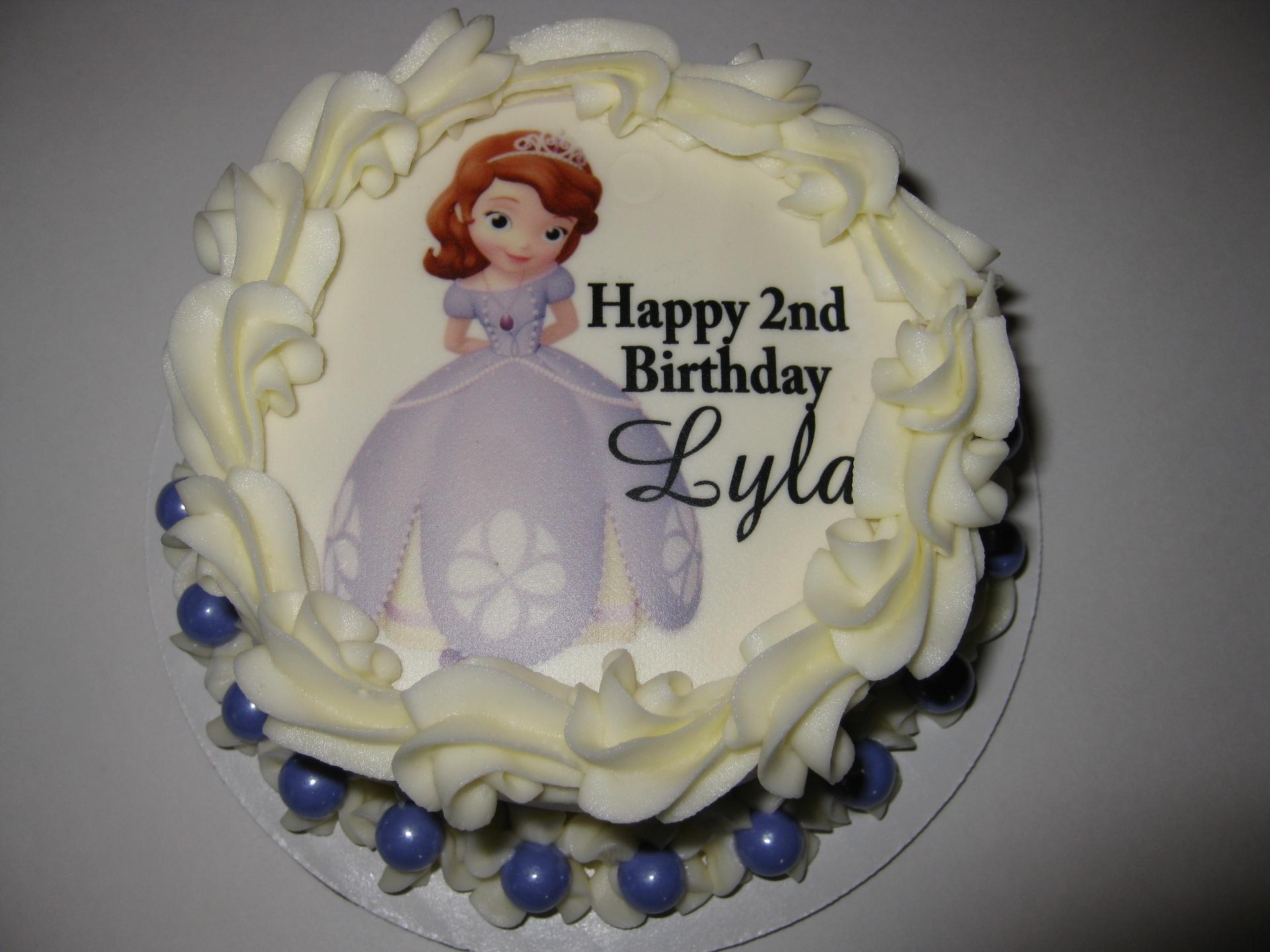 Lylas Sofia The First Smash Cake