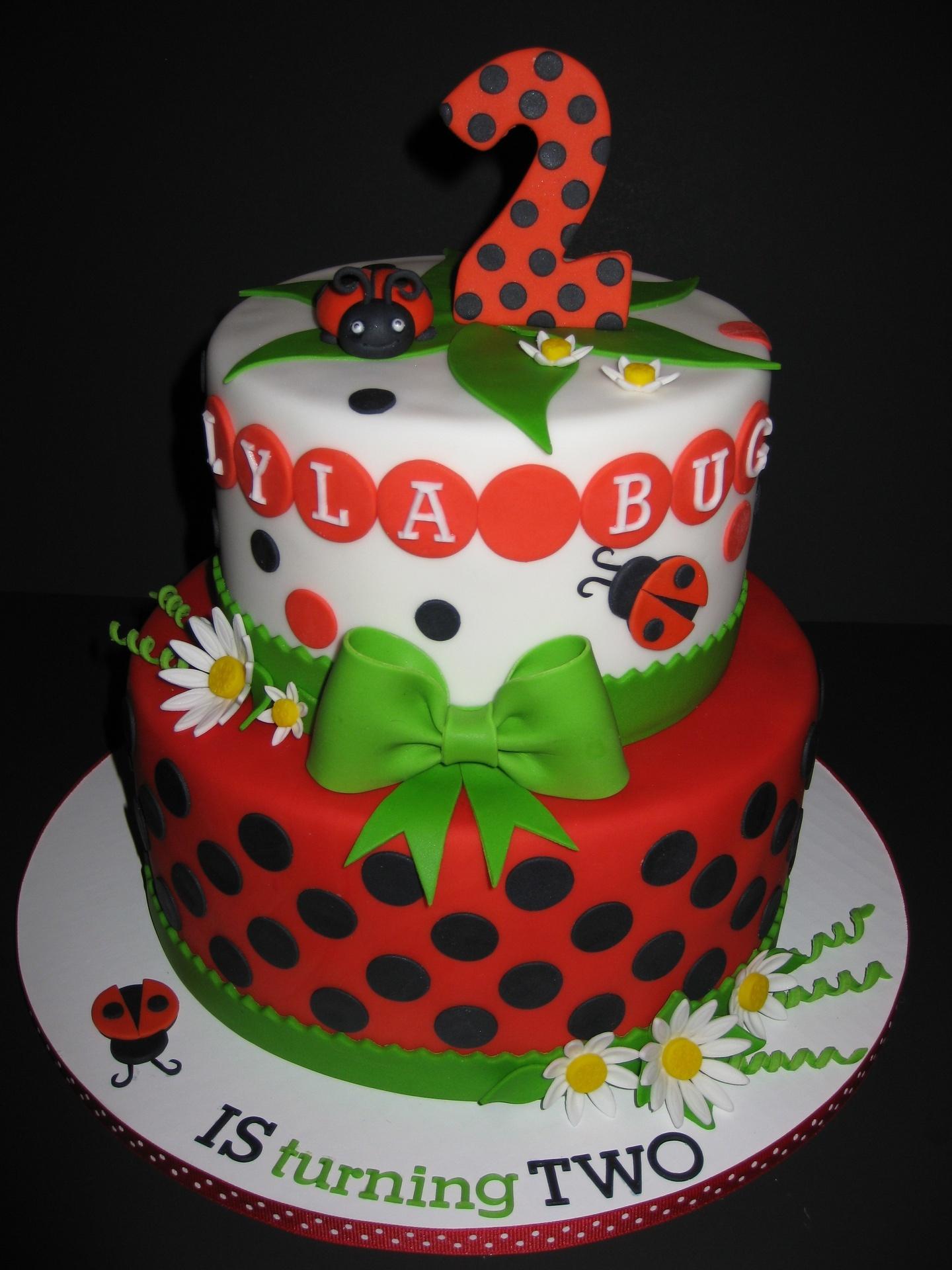 Lyla's Ladybug Birthday
