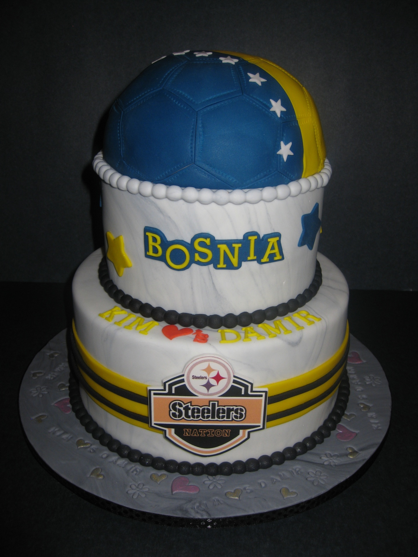 Damir's Grooms Cake