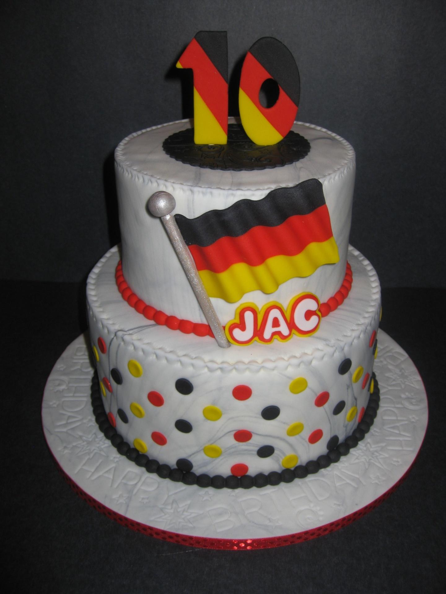 Jac's Germany Themed Birthday