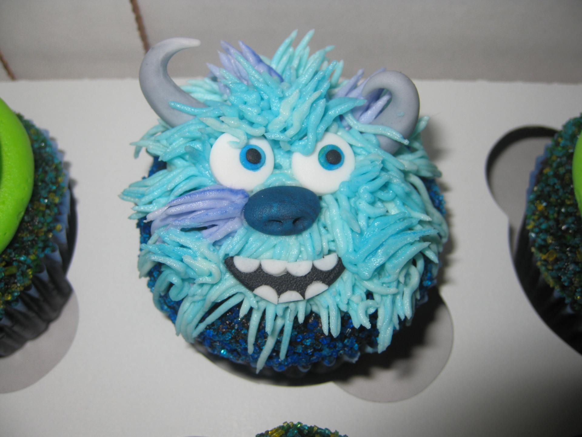 Monsters Inc Cupcakes For Your Halloween Theme Cupcakes