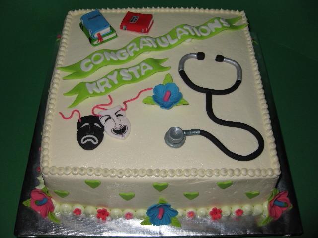 Krystal's Graduation Cake