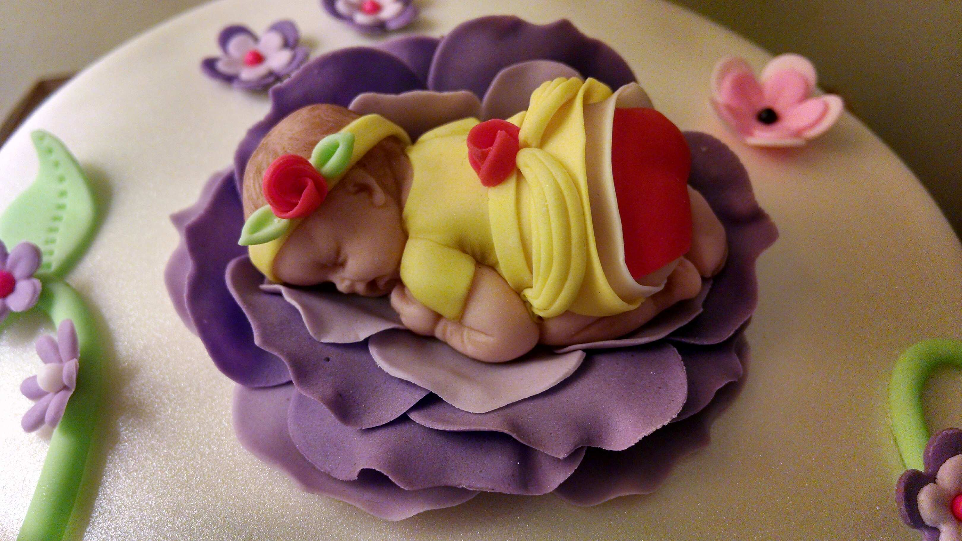 Janice's Baby Belle Cake Topper