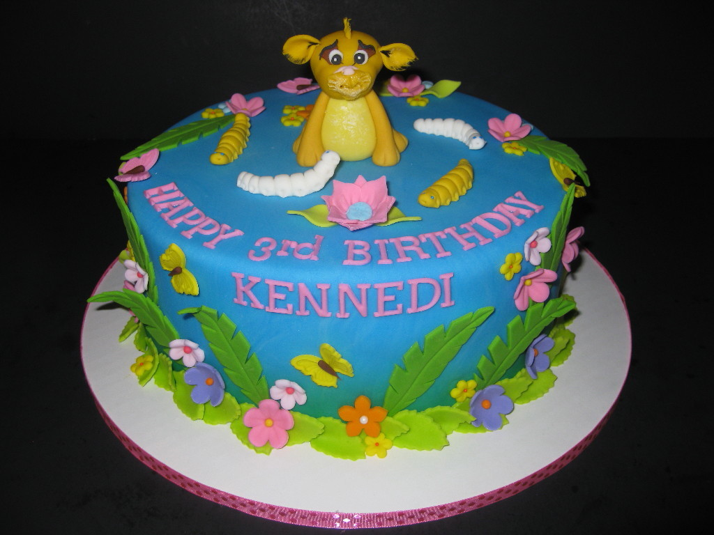 Little Lion King Birthday Cake