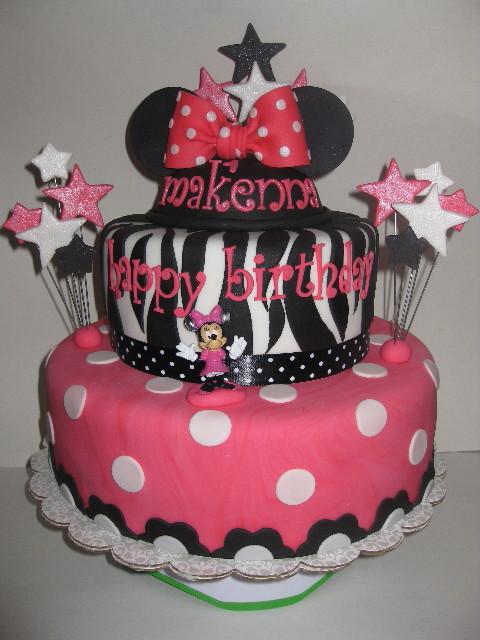 Makenna's Minnie Mouse Birthday