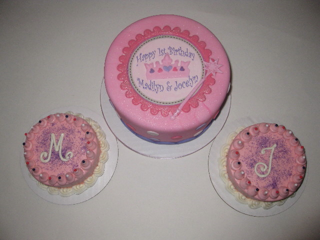 Princess Cake for twins