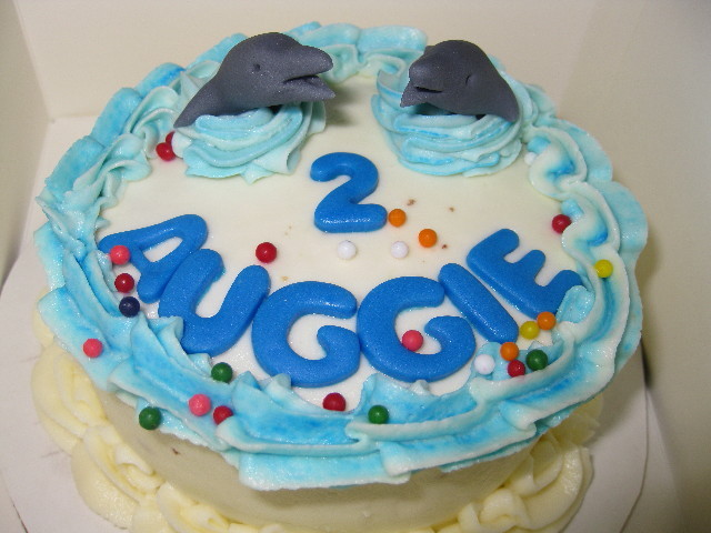 Sea Life Birthday Smash Cake