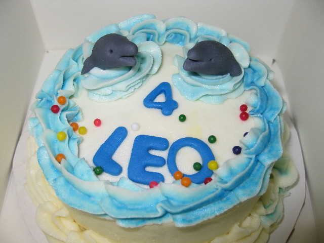 Sea Life Birthday Smash Cake