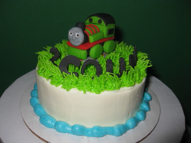 Collin's Henry the Train Cake